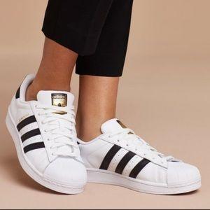 Adidas superstars, women's 7